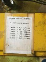 Cisaille guillotine hydraulique STROJAREN PIESOK NTH 3150/16 1975-Photo 3
