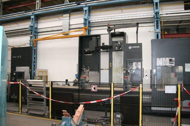 CNC Milling Machine LAGUN GBM CM8 2010