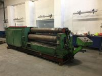 3 roll plate bøying maskin PIESOK XZPM 2000/8C