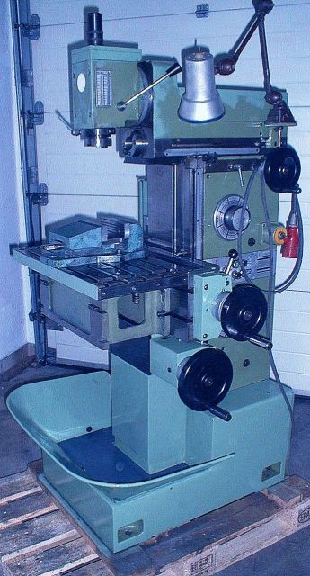 Toolroom Milling Machine ORADEA FUS  22 1986