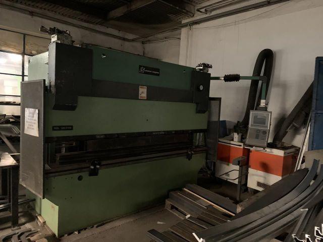 Prasa krawędziowa hydrauliczna CNC Liptovské strojárne HOL 120/3150 2010