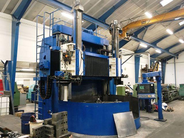 CNC Vertical Turret Lathe SCHIESS - SEDIN 1A525M-CNC 1999