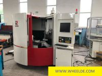 Vertical Boring Machine CNC Tool and Cutter Grinding Machine Saacke Model UW I E with 5 CNC axes