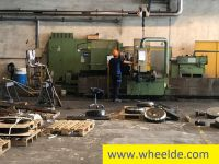 Sierra circular CNC lathe with 4 guideways brand TACCHI CNC lathe with 4 guideways brand TACCHI