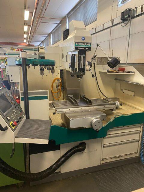 CNC-fräsmaskin FEHLMANN Picomax 54 1999