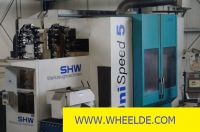 Horizontal Boring Machine CNC turning and milling machine SHW Unispeed 5 A CNC turning and milling machine SHW Unispeed 5 A