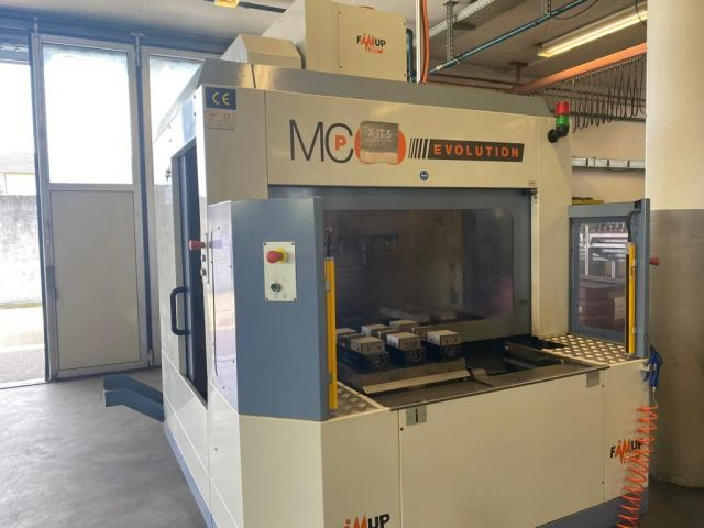 CNC Vertical Machining Center FAMUP MCP 60 2000