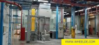 Gas Cutting Machine Paint shop Paint shop