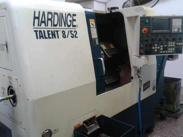 CNC dreiebenk HARDINGE Talent 8/52 2006