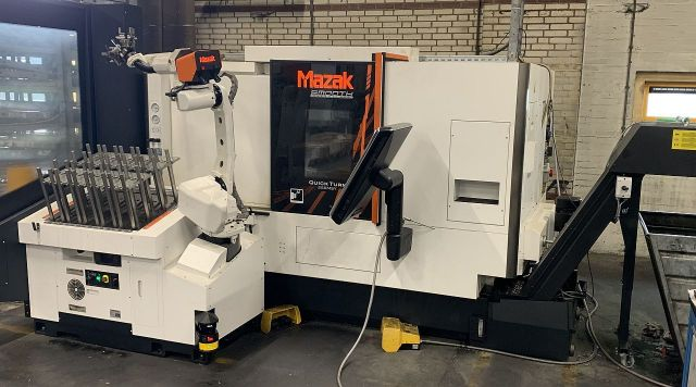 CNC Lathe MAZAK Quick Turn Smooth 250 MSY 2018
