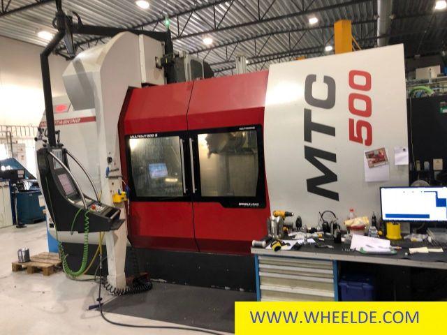 Prensa plegadora hidráulica NC Multicut MTC 500 Multicut MTC 500 2012