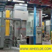 CNC Portal Milling Machine Complete Paint shop Complete Paint shop
