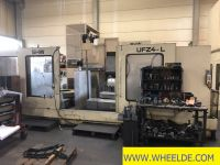 Línea de perfilado de chapa SHW UFZ 4 cnc universal milling machine SHW UFZ 4 cnc universal milling machine