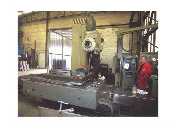 Horizontal Boring Machine WMW UNION BFKP 110 CNC 1984