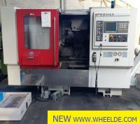 CNC horisontell fleroperationsmaskin Promax E450 CNC turning center Promax E450 CNC turning center