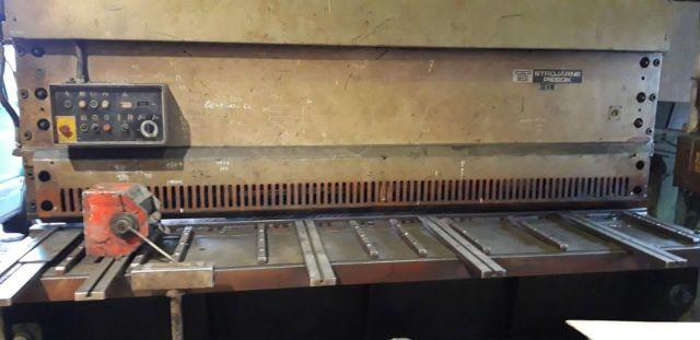 Mechanical Guillotine Shear PIESOK NTA 3100-10 A 1984
