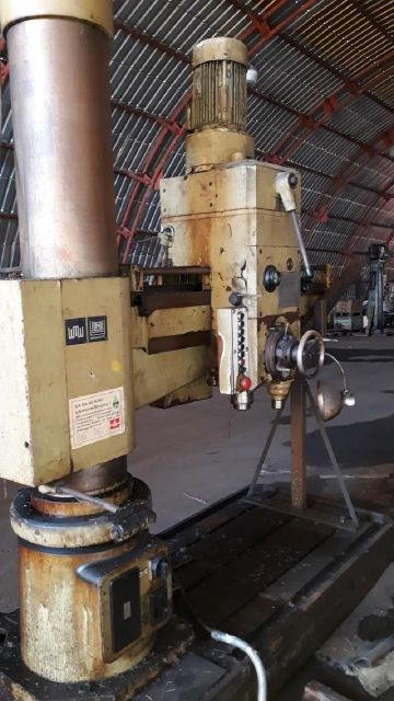 Radial Drilling Machine WMW HECKERT BR 40/2x 1250 1985
