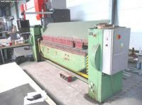 Folding Machines for sheet metal OZAMECH KM 5 / 2500