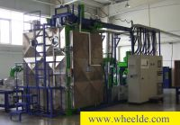 Mandrinadora vertical Hedrich vacum casting production line Hedrich vacum casting production line