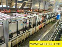 Linha de perfis de chapa de metal Automatic Anodising line by STS b Automatic Anodising line by STS b