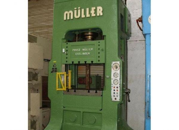 框架式液压机 MUELLER ZE 100-8.3.6 1966