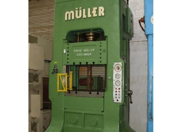 H Frame Hydraulic Press MUELLER ZE 100-8.3.6 1966