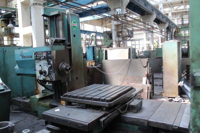 Horizontal Boring Machine TOS VARNSDORF TOS WH 10 CNC 1989
