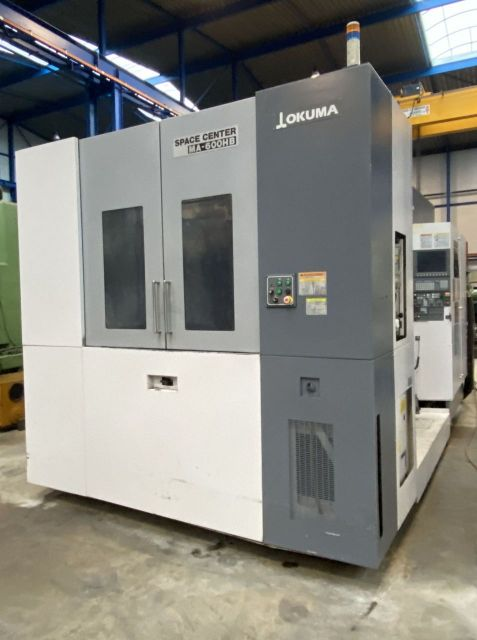 CNC horizontaal bewerkingscentrum OKUMA MA-600 HB Space Center 2006