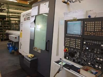 Torno CNC NAKAMURA TOME WT 250 II 2009