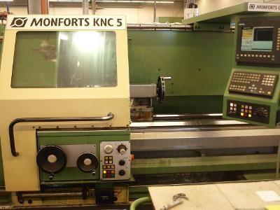 Torno CNC MONFORTS KNC 5 / 1500 1997