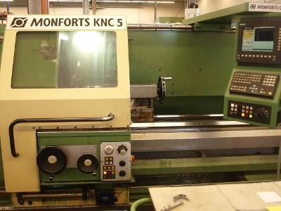 CNC draaibank MONFORTS KNC 5 / 1500 1997