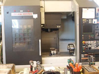 Centro de mecanizado vertical CNC MORI SEIKI Dura vertical 5080 2007
