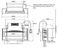 CNC hydraulický ohraňovací lis Safan H-BRAKE 170-4100 TS 1 2005-Fotografie 15