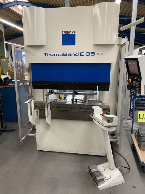 CNC Servo Press Brake TRUMPF TrumaBend E35 2000