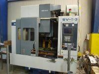 Vertikální obráběcí centrum CNC MORI SEIKI SV 50 / 40