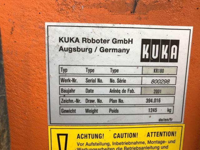 Robot KUKA KR 180 2001
