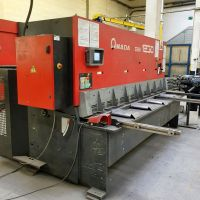 NC Hydraulic Guillotine Shear AMADA GSII 1230 2008-Photo 3