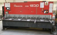 NC Hydraulic Guillotine Shear AMADA GSII 1230 2008-Photo 2
