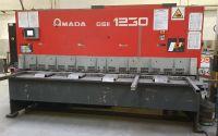 Cisaille guillotine hydraulique NC AMADA GSII 1230