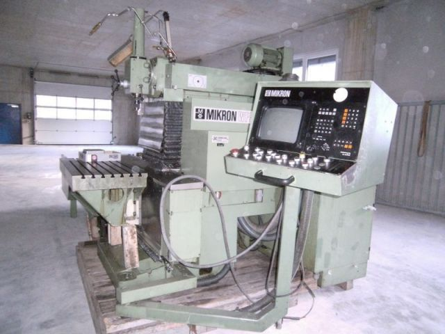 CNC Milling Machine MIKRON WF 51 C 1990