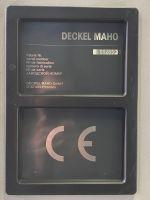 CNC Vertical Machining Center DECKEL MAHO DMU 60 P 1998-Photo 5