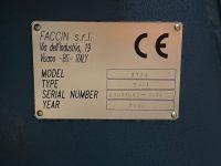 Tříválcová zakružovačka FACCIN HEL 3134 2009-Fotografie 3