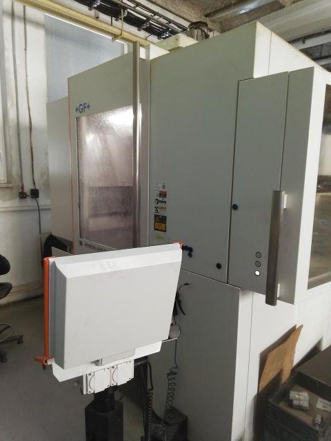 Centre dusinage horizontal CNC MIKRON HPM 800 U HD 2015