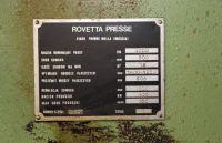 H Frame Press ROVETTA 400 TON 1990-Photo 19