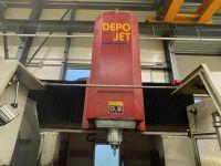 CNC centro de usinagem vertical DEPO DEPOJET 8 2000-Foto 6