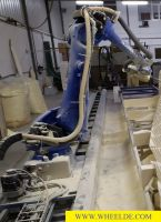 Robotti työstö Yaskawa Robot Motoman MH180 Yaskawa Robot Motoman MH180