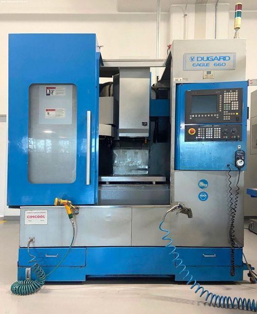 CNC de prelucrare vertical DUGARD EAGLE 660 2005