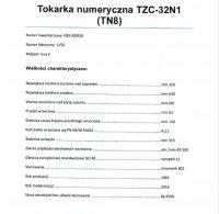 Токарный станок с ЧПУ (CNC) CHOFUM TZC32N1 с ЧПУ 1982-Фото 8