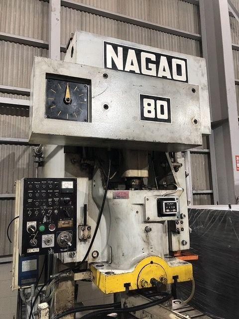 Excenterpers 0983 NAGAO JAPAN NCP-80 2000