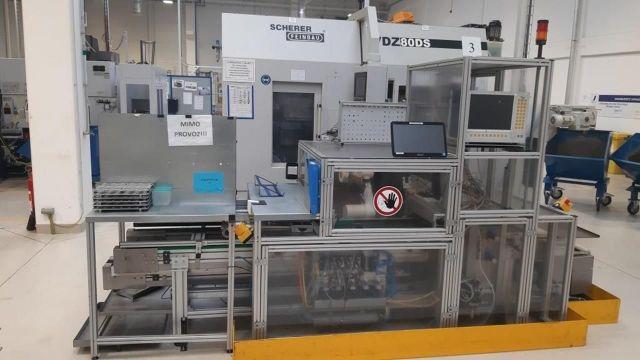Tokarka CNC SCHERER FEINBAU VDZ 80 DS 2008